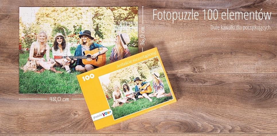 100-elementowe Fotopuzzle