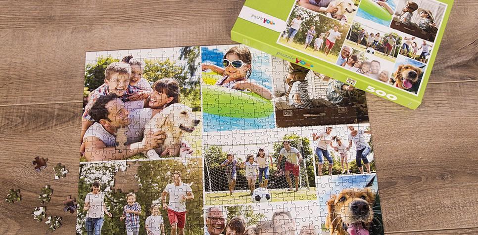 Fotopuzzle - prosty raster