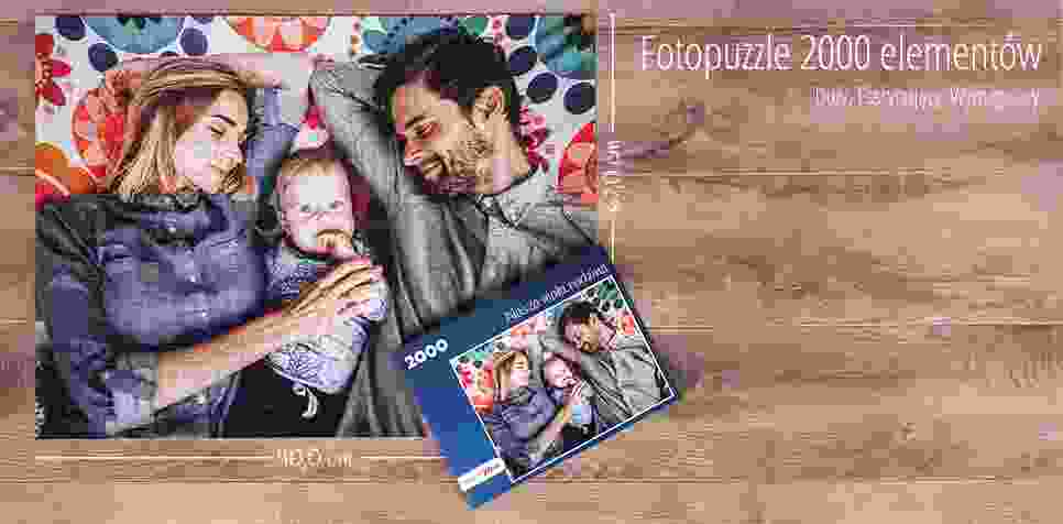 Fotopuzzle 2000 elementów