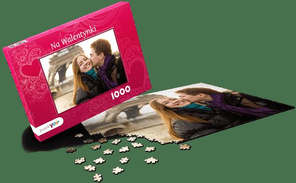 Pudełko do puzzli Miłość I