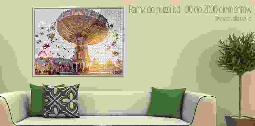 Rama do puzzli z 100 do 2000 elementów