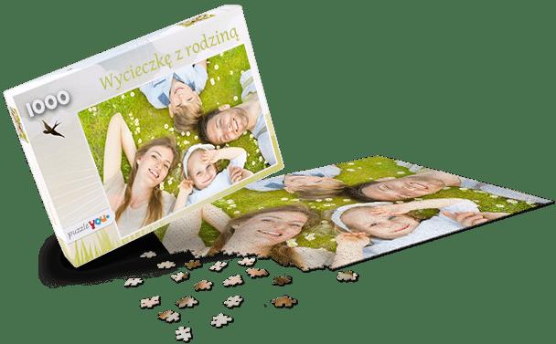 Pudełko do puzzli Wiosna