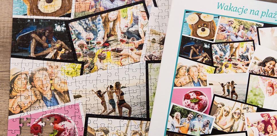 Fotopuzzle – układ warstwowy