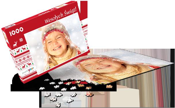 Pudełko do puzzli Boże Narodzenie IV