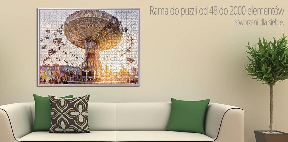 Rama do puzzli z 48 do 2000 elementów