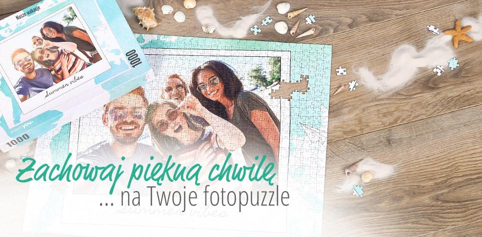 Zaprojektuj własne unikalne Fotopuzzle do 2000 elementów