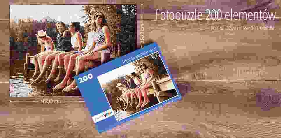 Fotopuzzle 200 elementów
