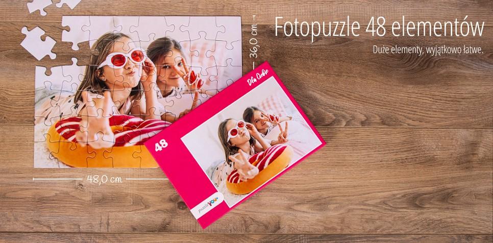 Fotopuzzle 48 elementów