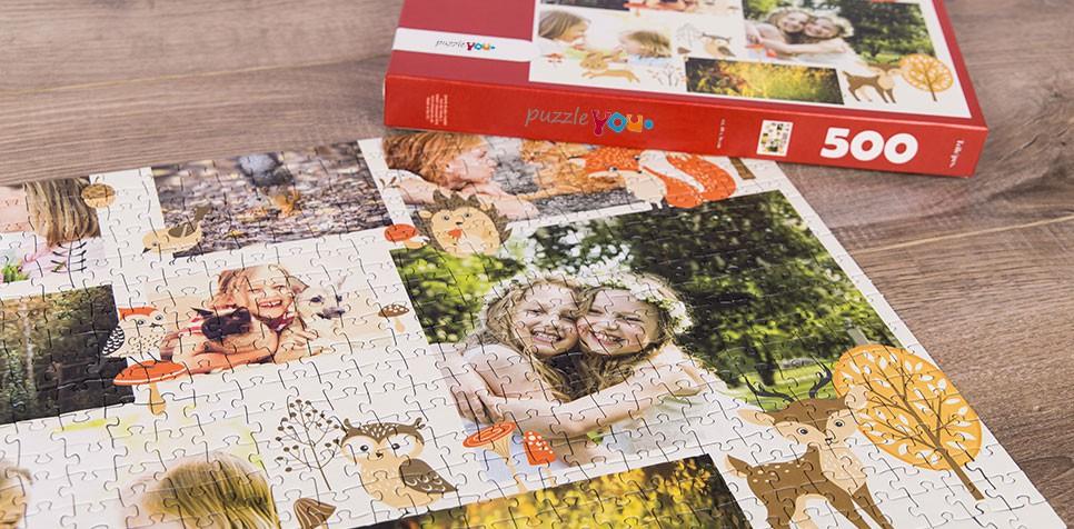 Fotopuzzle kolaż ilustracja